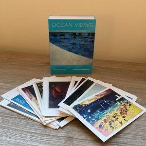 Museum of modern art postcards Ocean Views